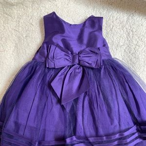 Vibrant Purple Special Occasion Dress